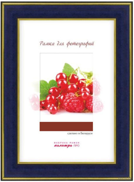 Рамка пластиковая со стеклом (15х21 см; арт. 25/444) — фото, картинка