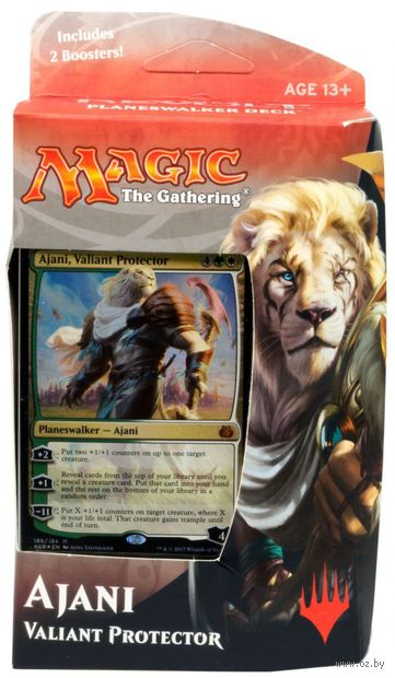 Magic the Gathering. Aether Revolt. Ajani — фото, картинка