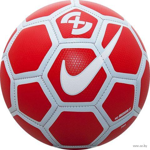 """Мяч футзальный Nike """"Rolinho Menor X"""" №4 (красный) — фото, картинка"""