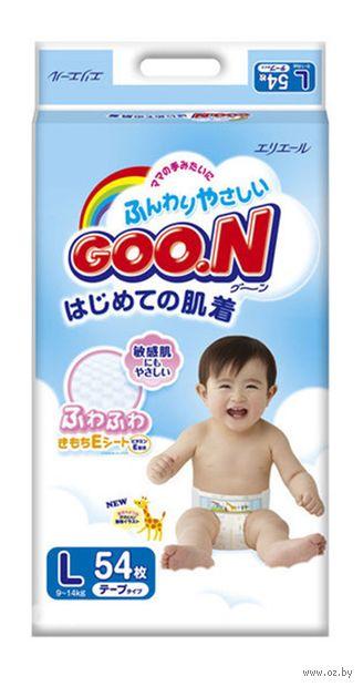 """Подгузники """"Goo.N"""" (9-14 кг; 54 шт.) — фото, картинка"""