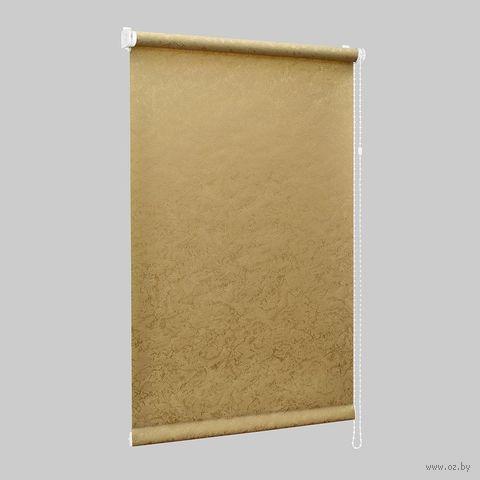 """Штора рулонная """"Сантайм. Венеция"""" (115х170 см; золото) — фото, картинка"""