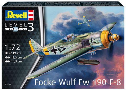 """Сборная модель """"Истребитель Focke Wulf Fw 190 F-8"""" (масштаб: 1/72) — фото, картинка"""