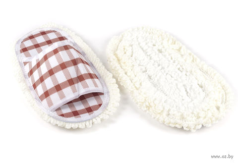 Приспособление текстильное для натирания пола (2 шт.; 255х120 мм)
