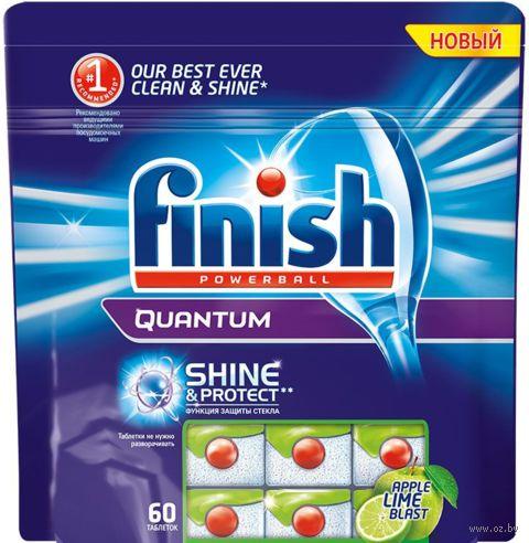 """Таблетки для посудомоечных машин """"Quantum. Лайм и яблоко"""" (60 шт.)"""