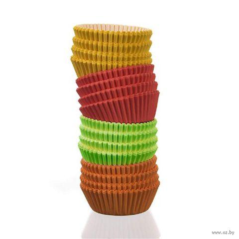 Форма бумажная для выпекания кексов (200 шт.; арт. 44KF55C) — фото, картинка