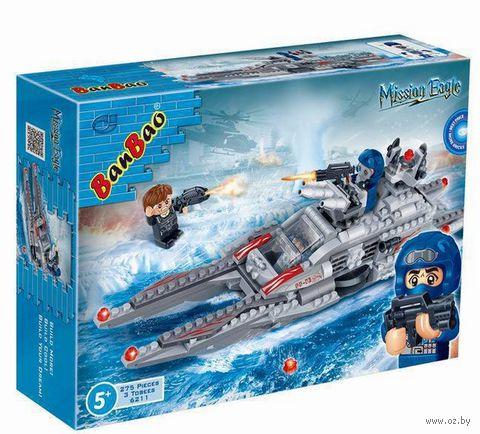 """Конструктор """"Подводная лодка"""" (275 деталей) — фото, картинка"""