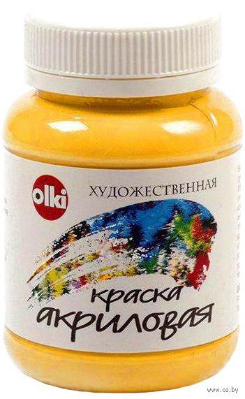 Краска акриловая (кадмий желтый, 100 мл)