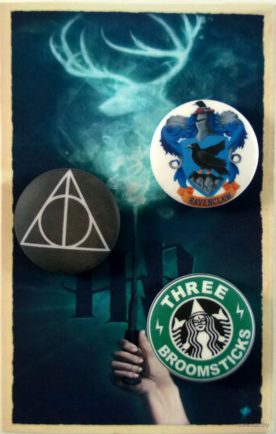 "Набор значков ""Гарри Поттер"" (314)"