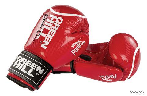 """Перчатки боксерские """"Panther"""" BGP-2098 (12 унций; красные) — фото, картинка"""