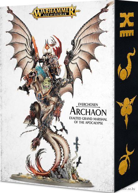 Warhammer Age of Sigmar. Everchosen. Archaon Exalted Grand Marshal (83-50) — фото, картинка
