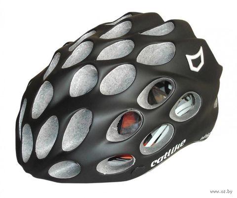 """Шлем велосипедный """"Whisper Plus"""" (L; чёрный) — фото, картинка"""