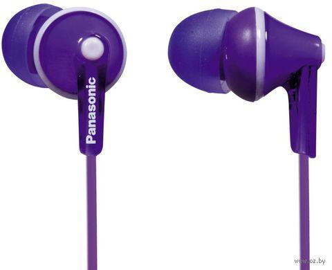 Наушники Panasonic RP-HJE125E-V (фиолетовые) — фото, картинка