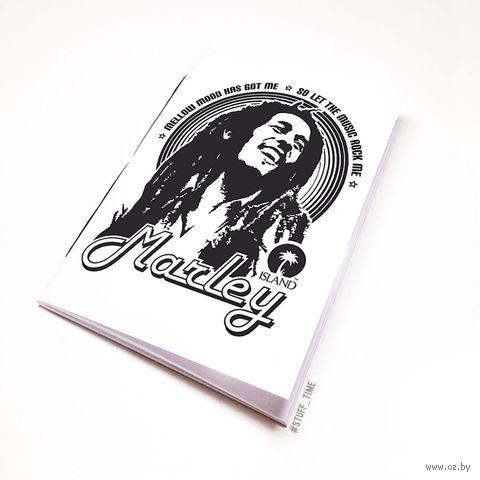 """Блокнот """"Боб Марли"""" (А5; арт. 060) — фото, картинка"""