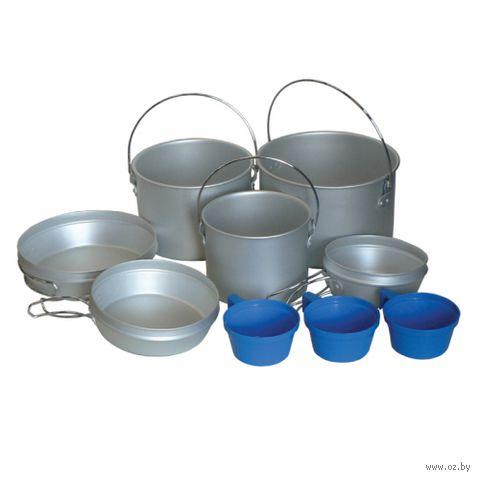 Набор алюминиевой посуды — фото, картинка
