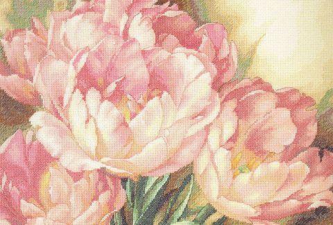 """Вышивка крестом """"Трио тюльпанов"""" (арт. DMS-35175)"""