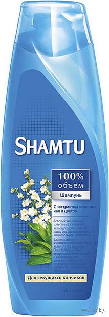 """Шампунь SHAMTU """"С экстрактом зеленого чая и цветов"""" (360 мл)"""