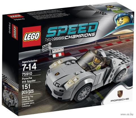 "LEGO Speed Champions ""Porsche 918 Spyder"" — фото, картинка"