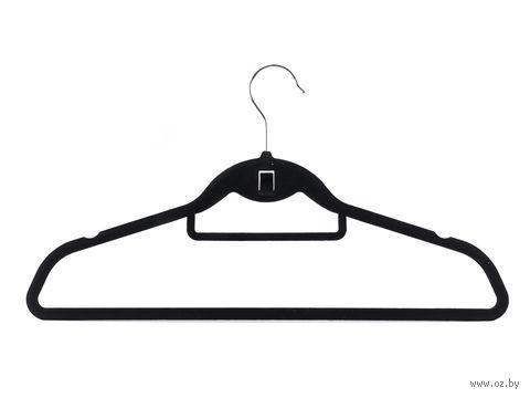 """Вешалка для одежды пластмассовая """"Вельвет"""" (450 мм)"""