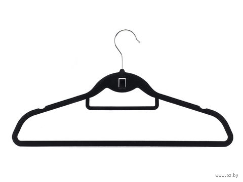 """Вешалка для одежды пластмассовая """"Вельвет"""" (45 см, арт. JL51019)"""