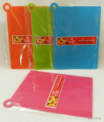 Доска разделочная пластмассовая (30х23х0,2 см; арт. HH3123PP)