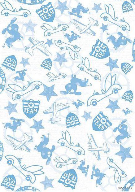 "Пленка-оверлей ""Детство. Машинки, собачки и звезды"" (210х300 мм)"