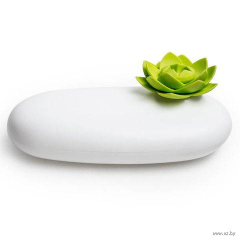 Шкатулка Lotus (белая/зеленая)
