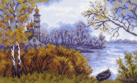 """Канва с нанесенным рисунком """"Осень"""" (арт. 1399)"""