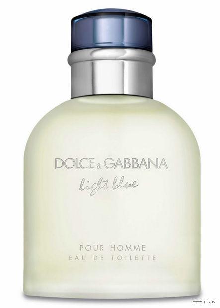 "Туалетная вода для мужчин Dolce & Gabbana ""Light Blue"" (75 мл) — фото, картинка"