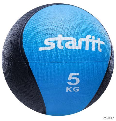 Медбол Pro GB-702 5 кг (синий) — фото, картинка