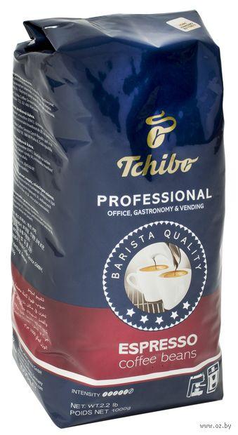 """Кофе зерновой """"Tchibo. Professional Espresso"""" (1 кг) — фото, картинка"""