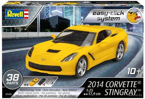 "Сборная модель ""Автомобиль Corvette Stingray 2014"" (масштаб: 1/25) — фото, картинка"
