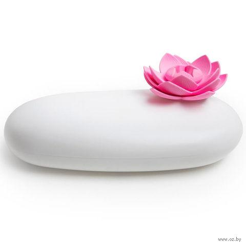 """Шкатулка """"Lotus"""" (белая/розовая)"""