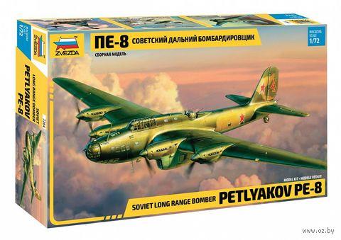 """Сборная модель """"Самолет Пе-8"""" (масштаб: 1/72) — фото, картинка"""