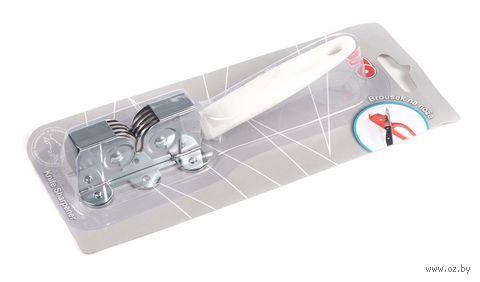 Точилка для ножей металлическая (16 см)