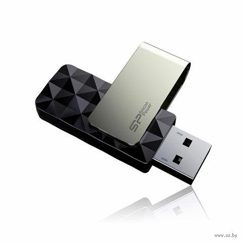 USB Flash Drive 32Gb Silicon Power Blaze B30 USB 3.0 (Black)