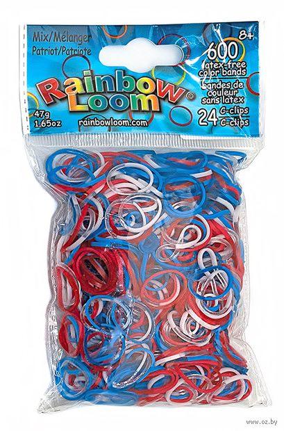 """Набор резиночек для плетения """"Rainbow Loom. Патриот"""""""