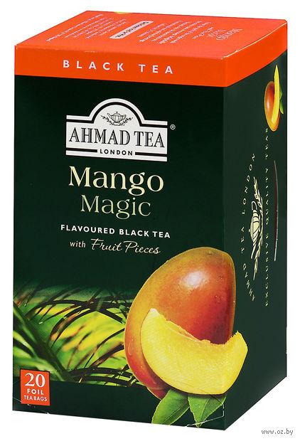"""Чай черный """"Ahmad Tea. Mango Magic"""" (20 пакетиков) — фото, картинка"""