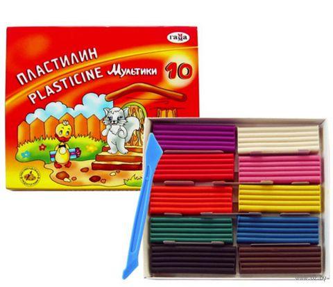 "Пластилин ""Мультики"" (10 цветов)"