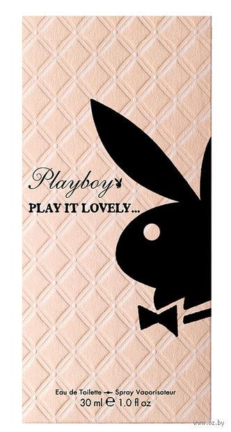 """Туалетная вода для женщин """"Play It Lovely"""" (30 мл)"""