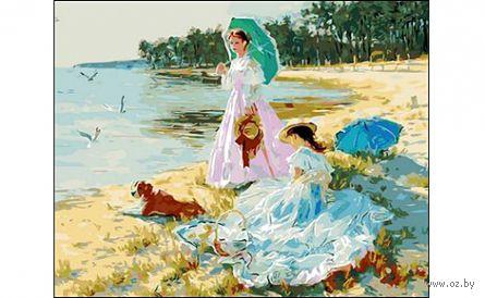 "Картина по номерам ""Дамы на прогулке"" (400x500 мм) — фото, картинка"