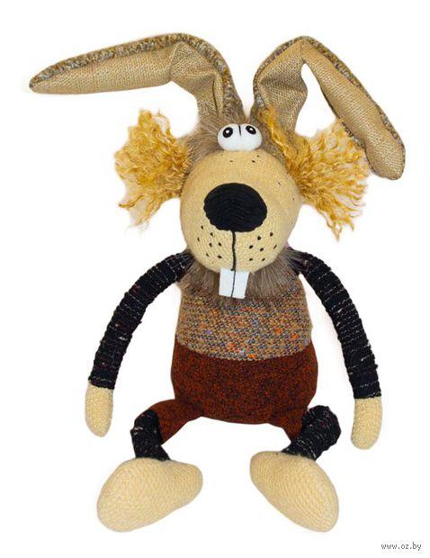 """Мягкая игрушка """"Кролик Робин"""" (19 см) — фото, картинка"""