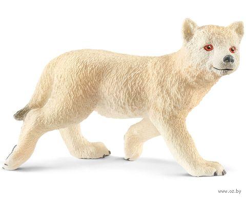 """Фигурка """"Детеныш мелвильского островного волка"""" (3,6 см) — фото, картинка"""