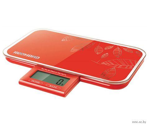 Кухонные весы Redmond RS-721 (красные) — фото, картинка
