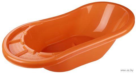 "Ванночка для купания ""Карапуз"" (оранжевая) — фото, картинка"