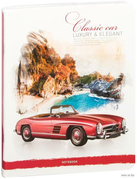 """Тетрадь общая в линейку """"Classic Car"""" (80 листов; в ассортименте) — фото, картинка"""