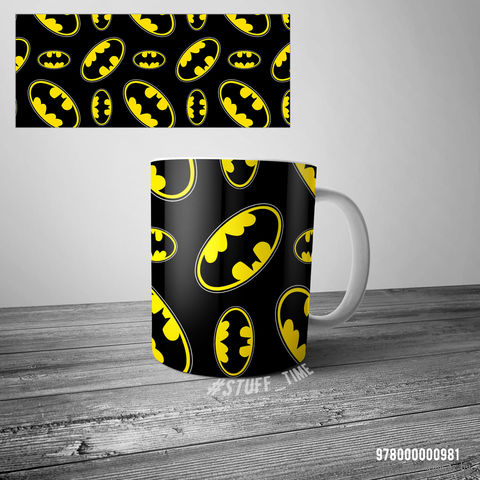 """Кружка """"Бэтмен"""" (арт. 0981) — фото, картинка"""