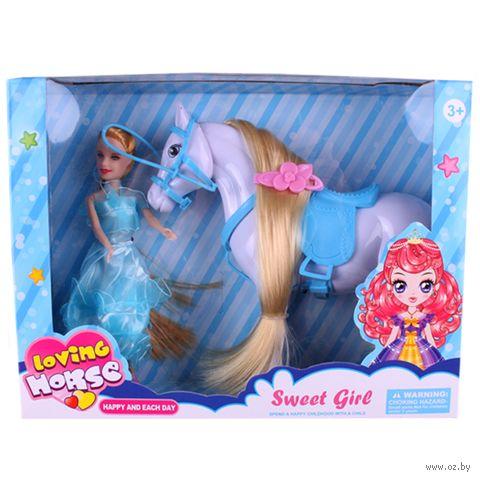 """Кукла """"Принцесса с лошадкой"""" — фото, картинка"""