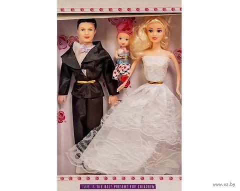"""Набор кукол """"Семья"""" (3 шт.) — фото, картинка"""