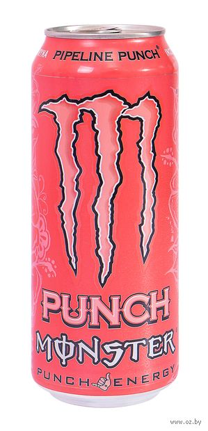 "Напиток газированный ""Monster Energy. Pipeline Punch"" (500 мл) — фото, картинка"