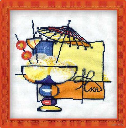 """Вышивка крестом """"Мороженое"""" (арт. 975)"""